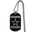 Siskiyou Buckle FTN055 Dallas Cowboys Tag Necklace