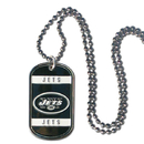Siskiyou Buckle FTN100 New York Jets Tag Necklace