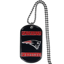 Siskiyou Buckle FTN120 New England Patriots Tag Necklace