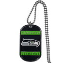 Siskiyou Buckle FTN155 Seattle Seahawks Tag Necklace