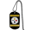 Siskiyou Buckle FTN160 Pittsburgh Steelers Tag Necklace