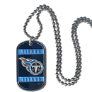 Siskiyou Buckle FTN185 Tennessee Titans Tag Necklace