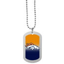 Siskiyou Buckle Denver Broncos Team Tag Necklace, FTNP020