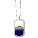 Siskiyou Buckle Los Angeles Chargers Team Tag Necklace, FTNP040