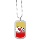 Siskiyou Buckle Kansas City Chiefs Team Tag Necklace, FTNP045