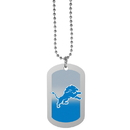 Siskiyou Buckle Detroit Lions Team Tag Necklace, FTNP105