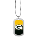 Siskiyou Buckle Green Bay Packers Team Tag Necklace, FTNP115