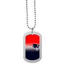 Siskiyou Buckle New England Patriots Team Tag Necklace, FTNP120