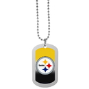 Siskiyou Buckle Pittsburgh Steelers Team Tag Necklace, FTNP160