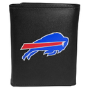 Siskiyou Buckle FTRL015 Buffalo Bills Tri-Fold Wallet Large Logo