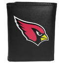 Siskiyou Buckle FTRL035 Arizona Cardinals Tri-Fold Wallet Large Logo