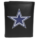 Siskiyou Buckle FTRL055 Dallas Cowboys Tri-Fold Wallet Large Logo