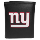 Siskiyou Buckle FTRL090 New York Giants Tri-Fold Wallet Large Logo