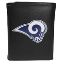 Siskiyou Buckle FTRL130 Los Angeles Rams Tri-Fold Wallet Large Logo