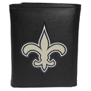 Siskiyou Buckle FTRL150 New Orleans Saints Tri-Fold Wallet Large Logo