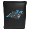 Siskiyou Buckle FTRL170 Carolina Panthers Tri-Fold Wallet Large Logo