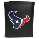 Siskiyou Buckle FTRL190 Houston Texans Tri-Fold Wallet Large Logo