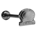 Siskiyou Buckle FTSB005 Chicago Bears Barbell Tongue Ring