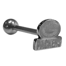 Siskiyou Buckle FTSB115 Green Bay Packers Barbell Tongue Ring