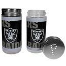 Siskiyou Buckle FTSP125 Oakland Raiders Tailgater Salt & Pepper Shakers