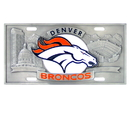 Siskiyou Buckle FVP020 Denver Broncos Collector's License Plate