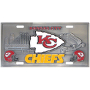 Siskiyou Buckle FVP045 Kansas City Chiefs Collector's License Plate