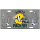 Siskiyou Buckle FVP115 Green Bay Packers Collector's License Plate
