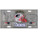 Siskiyou Buckle FVP120 New England Patriots Collector's License Plate