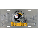 Siskiyou Buckle FVP160 Pittsburgh Steelers Collector's License Plate