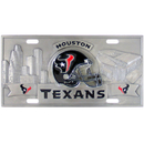 Siskiyou Buckle FVP190 Houston Texans Collector's License Plate