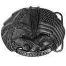 Siskiyou Buckle G43 Gettysburg Antiqued Belt Buckle