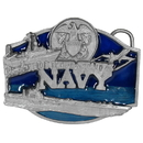 Siskiyou Buckle G50E U.S. Navy - Enameled Belt Buckle