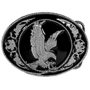 Siskiyou Buckle G5D Eagle (Diamond Cut) Enameled Belt Buckle