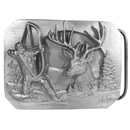 Siskiyou Buckle Bowhunter Antiqued Belt Buckle, G900