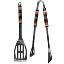 Siskiyou Buckle H2BQ55 Anaheim Ducks 2 pc Steel BBQ Tool Set