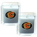 Siskiyou Buckle H2CD60 Calgary Flames? Scented Candle Set