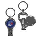 Siskiyou Buckle H3KC105 New York Rangers Nail Care/Bottle Opener Key Chain