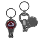 Siskiyou Buckle H3KC5 Colorado Avalanche Nail Care/Bottle Opener Key Chain