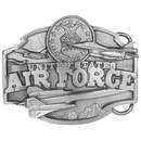 Siskiyou Buckle Air Force Antiqued Belt Buckle, H50