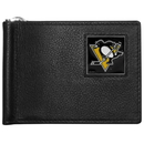 Siskiyou Buckle HBCW100 Pittsburgh Penguins? Leather Bill Clip Wallet