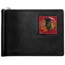 Siskiyou Buckle HBCW10 Chicago Blackhawks Leather Bill Clip Wallet