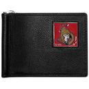 Siskiyou Buckle HBCW120 Ottawa Senators? Leather Bill Clip Wallet