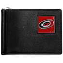 Siskiyou Buckle HBCW135 Carolina Hurricanes? Leather Bill Clip Wallet