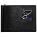 Siskiyou Buckle HBCW15 St. Louis Blues Leather Bill Clip Wallet