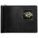 Siskiyou Buckle HBCW40 Nashville Predators Leather Bill Clip Wallet