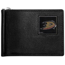 Siskiyou Buckle HBCW55 Anaheim Ducks Leather Bill Clip Wallet