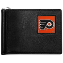 Siskiyou Buckle HBCW65 Philadelphia Flyers Leather Bill Clip Wallet