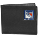 Siskiyou Buckle HBI105BX New York Rangers? Leather Bi-fold Wallet