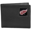 Siskiyou Buckle HBI110BX Detroit Red Wings? Leather Bi-fold Wallet