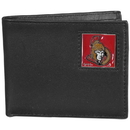 Siskiyou Buckle HBI120 Ottawa Senators Leather Bi-fold Wallet Packaged in Gift Box